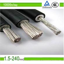 Fio fotovoltaico de cobre estanhado 2.5mm2 6mm2 do cabo do cobre da CC de TUV