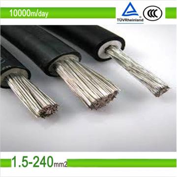 TÜV verzinnt Kupfer Solar-Photovoltaik-Kabel Draht 2,5 mm2 6 mm2