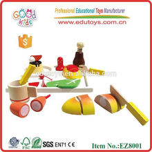 Play Food Set Educational Wooden Toys