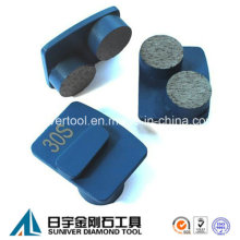 2 Round Grinding Segment Redi Lock Plate Tool