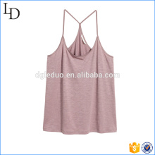 Tank Top in Slub Jersey breathable athletic activewear