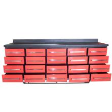 Banco de trabajo del cajón del metal resistente de alta calidad para el uso de la fábrica del molde