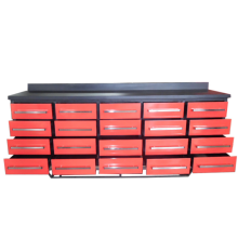 High Quality heavy duty metal drawer workbench for mold factory use