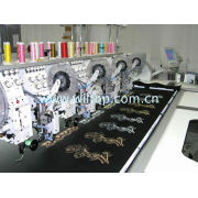 Hy-912 Automatic Mixed Embroider Machines, High Speed Embroidery Machine