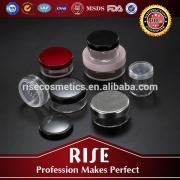 plastic Powder box cosmetic acrylic jar for packaging