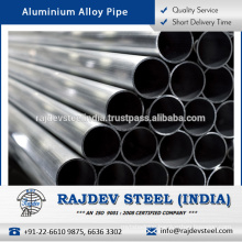 High End Quality Standard Durable Finish Aluminium Alloy Pipe from Reliable Supplier