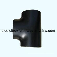 Carbon Stahl nahtlos Stumpfnaht Rohr t-Stück