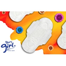 OEM cotton sanitary pads for swimming