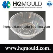 Molde de inyección de tazón desechable de plástico con alto pulido