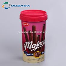 Paquet alimentaire IML pp tasse à biscuits en plastique