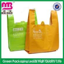 Promotional China Factory Wholesale Custom Shopping Plastic Bags Used in Supermarkets