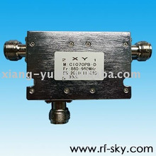 100W 1.18 VSWR 806-915MHz N SMA Dual coaxial isolator