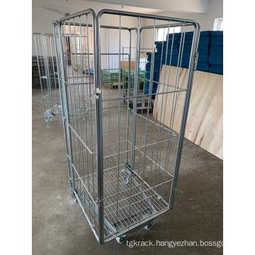 Foldable Steel Metal Cargo Trolley
