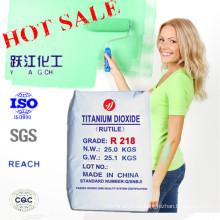 Rutile Grade Titanium Dioxide White Pigment für die Beschichtung