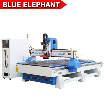 1530 Automatic Siemens Controller Wood Router with Linear Tool Changer for Sale