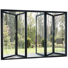 10mm toughened glass folding door for restaurant