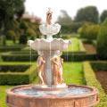 Большой сад используется отделка мрамором фонтан с статуи для продажи