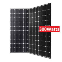 High Effeciency 156mm Mono 72 Cells 300 Watt Monocrystalline Solar Panels
