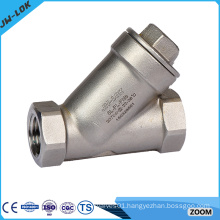 Stainless steel Y strainer filter valve