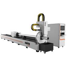 High Configuration Metal Tube CNC Fiber Laser Cutting Machine Price For Sale