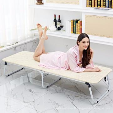 lits pliants en fer lits en bois lit de camping portable