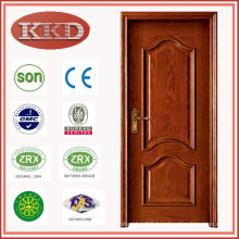 Red Oak Color Solid Wood Door MD-502 for Interior Use