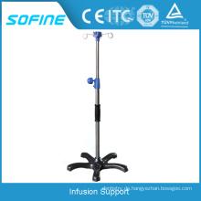 SF-D01-6 Krankenhaus mit Edelstahl Infusion Pole