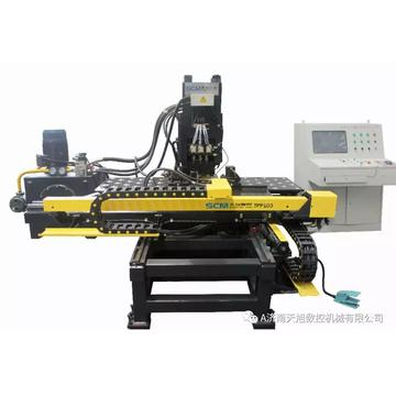 CNC Hydraulic Plates Punching Machine