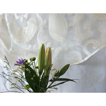2018 New Design Cutting Sheer Table Cloth