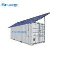 Холодильные контейнеры на солнечных батареях для хранения рыбы