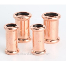 Copper M type press fitting for water system