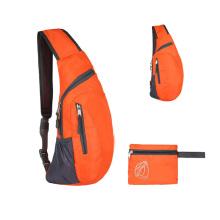 Large Capacity Cross Body foldable Sling Travel Hiking bag  Folding Chest Bag for sports hiking riding