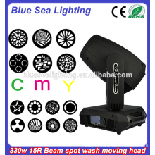 Beam spot wash 3in1 CMY moving head light 15R