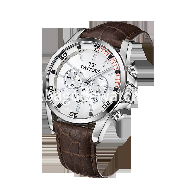 Steel Back Stainless Watch