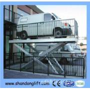 Hydraulic Car Elevator Parking Systems