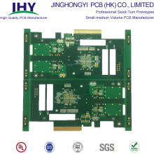 Turnkey Service Fr4 94V0 Gold Finger PCB with Big IC and BGA