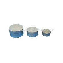 T-BOTA Caixa de alumínio Lata de conteúdo de umidade com tampa