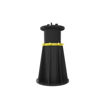 Pedestal de plástico ajustable para tejas planas