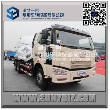 FAW J6p 10 Wheeler 14 M3 Transit Mixer Truck