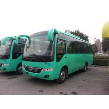 China automóvel de passageiros médio do ônibus escolar de 7.5m com 31-35 assentos