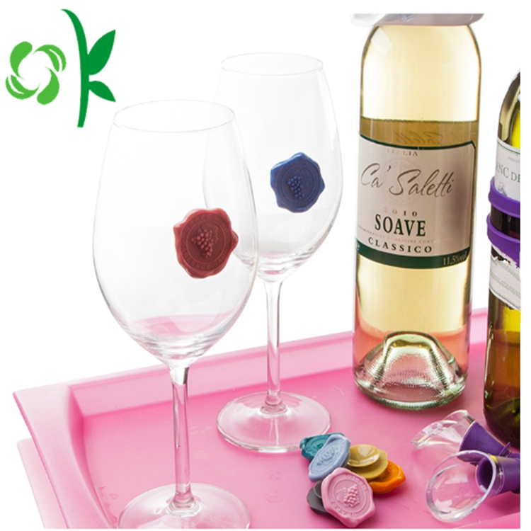 Silicone Drink Markers Creative