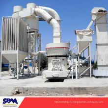 Célèbre SBM marque raymond broyeur de charbon, machines de carbonate de calcium