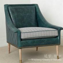 Faux cuir 100% polyester daim pour les utilisations de canapé