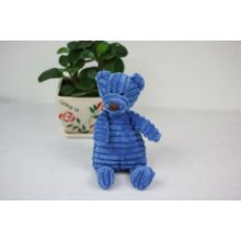 New type of fabric sitting plush bear toy
