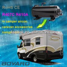 Quantité importante économiser l'espace d'installation compresseur horizontal avec R407c forrv climatisation climatiseur de toit moteur