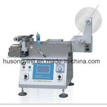 Máquina de corte de calor y frío de la etiqueta de la cinta