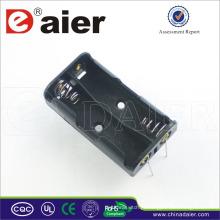 Suporte para bateria Daier aa com pino 3v suporte de bateria aa