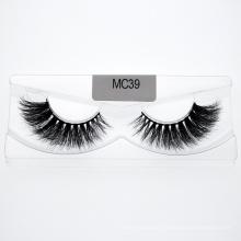 Manufacture Strip Mink Eyelashes Wholesale Private Label Custom Package Lashes Wholesale 3D 5D 25mm Mink Eyelashes