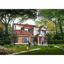 Lgs nuevo diseño puede ser fijo y combinado muchas veces Villa de acero