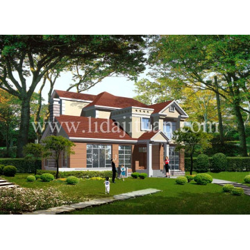 Lgs New Design Can Be Fixed and Combined Many Times Steel Villa